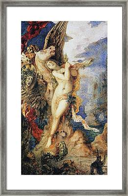 Perseus And Andromeda Framed Print by Gustave Moreau