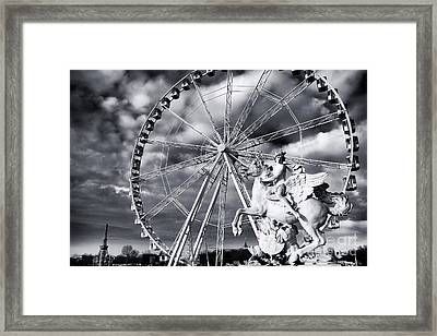 Perseus In Paris Framed Print by John Rizzuto