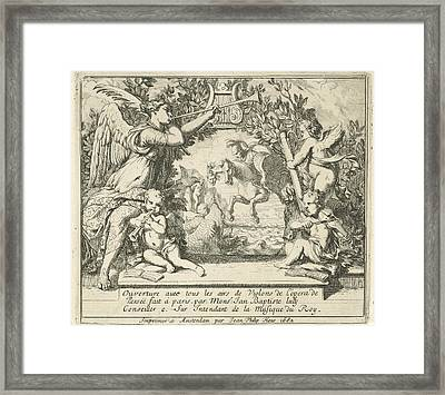 Perseus With The Head Of Medusa, Jean Philip Heus Framed Print by Quint Lox