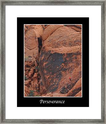 Perseverance Framed Print by Kirt Tisdale