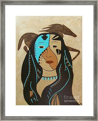 Perseverance Of The Mare And Maiden Framed Print