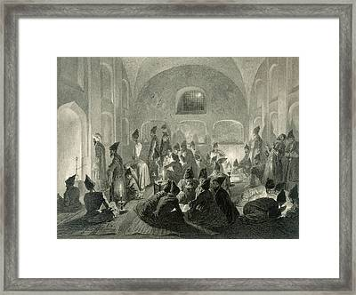 Persian Mosque At Yerevan, Armenia Framed Print by Grigori Grigorevich Gagarin