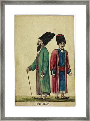 Persian's Framed Print
