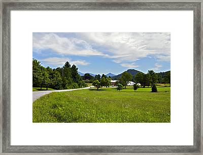 Persimmon Valley Framed Print