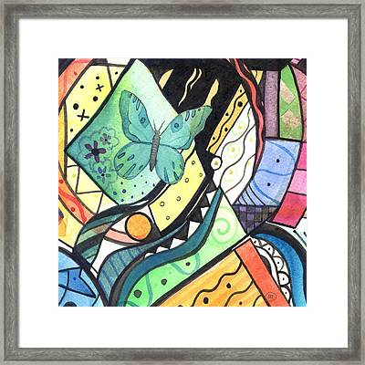 Persistence Of Form Framed Print