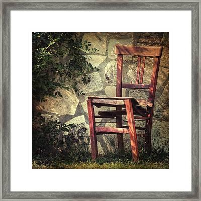 Persistence Of Memory Framed Print