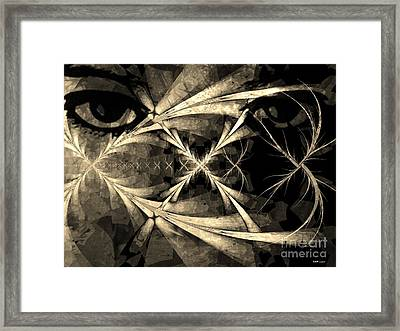 Persistence Of Other Peoples Memory Framed Print by Elizabeth McTaggart
