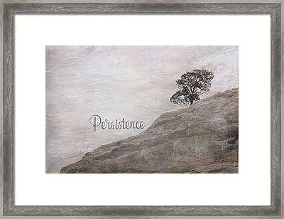 Persistence Framed Print by Ramona Murdock