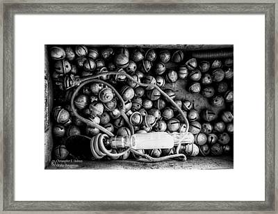 Persistent Glow Framed Print by Christopher Holmes