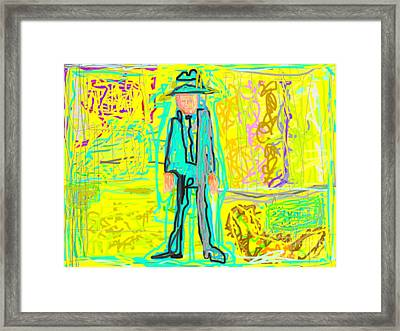 Person Framed Print
