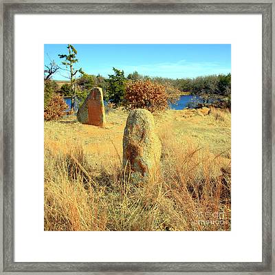 Perspective 2 Framed Print by Mickey Harkins