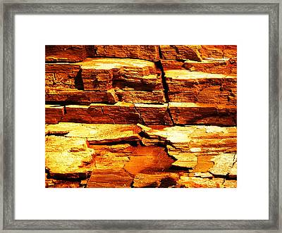 Perspective Framed Print by Christian Rooney