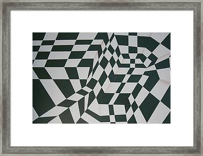 Perspective Confusion Framed Print by Leana De Villiers