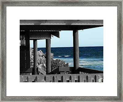 Perspective Framed Print by Henry Nguyen