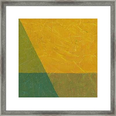 Perspective In Color Collage 6 Framed Print