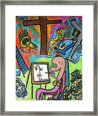 Perspective Framed Print by Lois Picasso