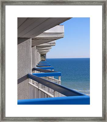Perspective. Perception. Life. Framed Print