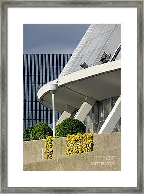 Perspectives Mellon Arena Framed Print by Amy Cicconi