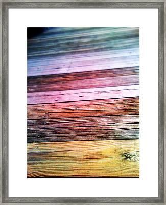 Perspectives Framed Print by Olivier Calas