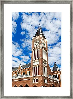 Framed Print featuring the photograph Perth Town Hall by Yew Kwang