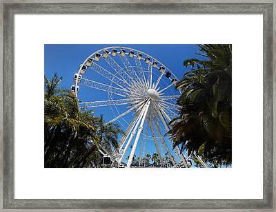Perth Wheel Framed Print by Niel Morley