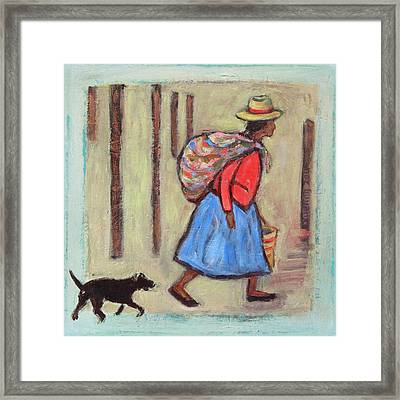 Peru Impression I Framed Print