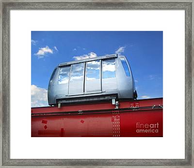 Perugia Tram Framed Print by Gregory Dyer