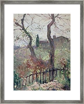 Perugia  Umbria Framed Print
