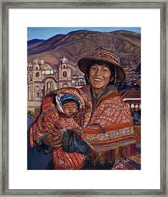 Peruvian Joy Framed Print