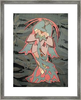 Pesca De La Flora Framed Print by Alison  Grieco