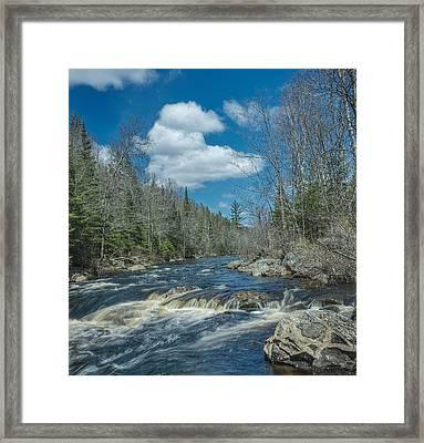 Peshekee Blue Sky Framed Print
