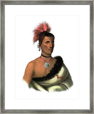 Peskelechaco, 1821 Framed Print