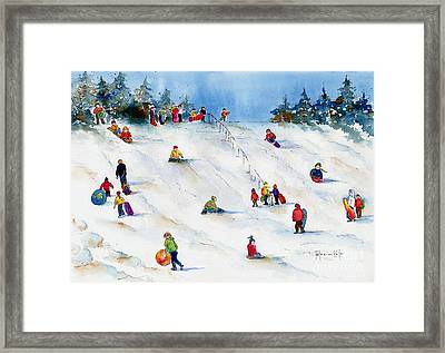 Pest Hill Framed Print by Pat Katz