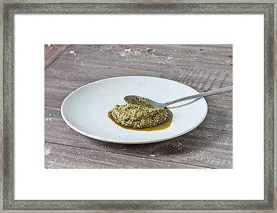 Pesto Framed Print