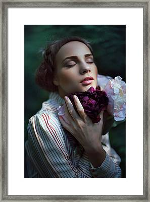 Petals Of Time Framed Print by Alexander Kuzmin