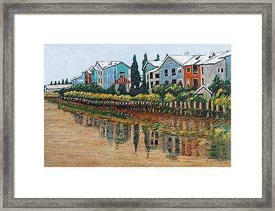 Petaluma Basin Street Framed Print by Gerhardt Isringhaus