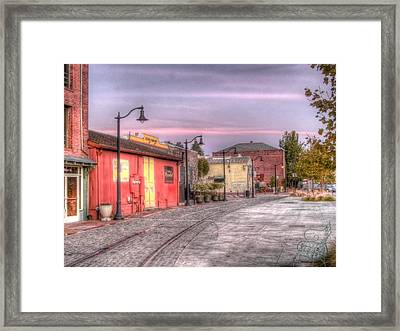 Petaluma Morning Framed Print