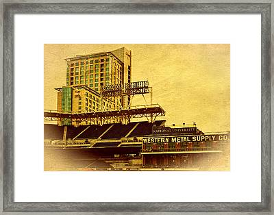 Petco Park- Western Metal Framed Print by See My  Photos