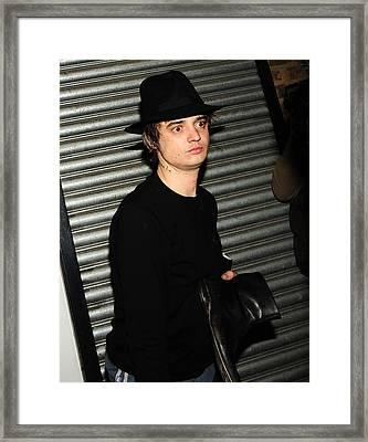 Pete Doherty  Framed Print