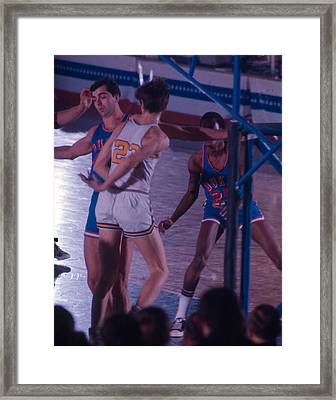 Pete Maravich Behind The Back Pass Framed Print