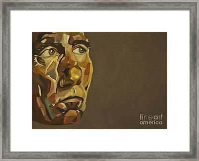 Pete Postlethwaite Framed Print