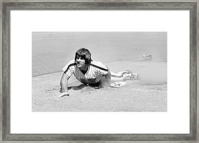 Pete Rose Framed Print