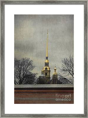 Peter And Paul Fortress Framed Print by Elena Nosyreva