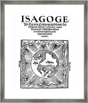 Peter Apian's Isagoge Framed Print