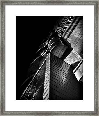 Peter Gilgan Centre For Research And Learning Toronto Ontario Framed Print by Brian Carson