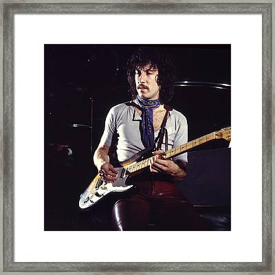 Peter Green 1969 Framed Print by Chris Walter