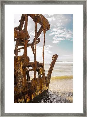 Peter Iredale 2 Framed Print