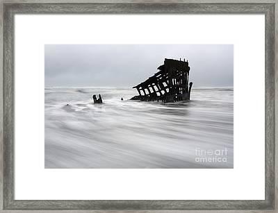 Peter Iredale Shipwreck Oregon 2 Framed Print
