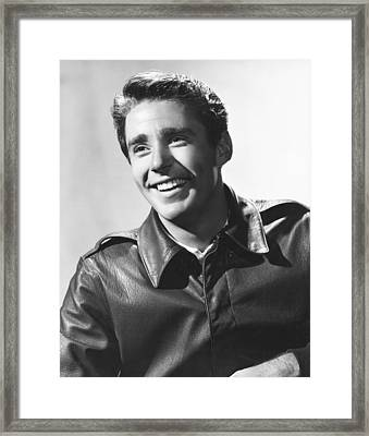 Peter Lawford, Mgm Portrait By Clarence Framed Print