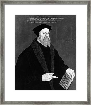 Peter Martyr (1500-1562) Framed Print by Granger